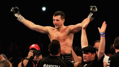 Carl Froch: Has not fought since knocking out George Groves last May