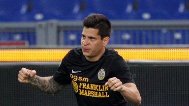 Juan Manuel Iturbe: Has joined Roma