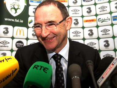 Martin O'Neill: Takes on Georgia in his first competitive game
