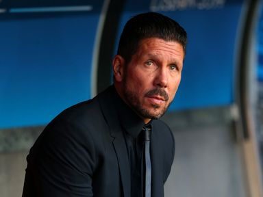 Diego Simeone: Admits his side will struggle to compete for first place this season.