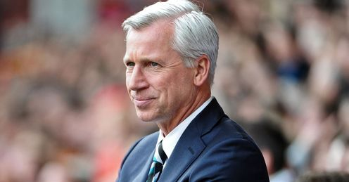 Alan Pardew: Will not be sacked any time soon