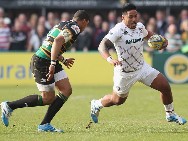 England's men: Burrell and Tuilagi