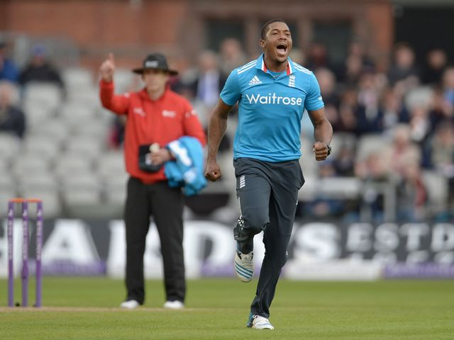 Chris Jordan: Superb spell of bowling for England