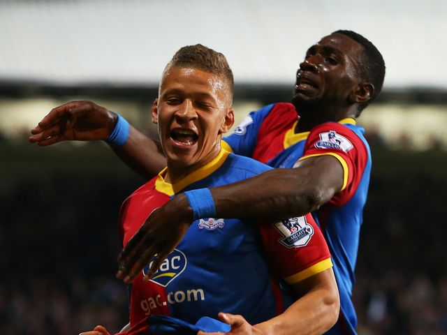 Dwight Gayle helped turn the game around for Crystal Palace