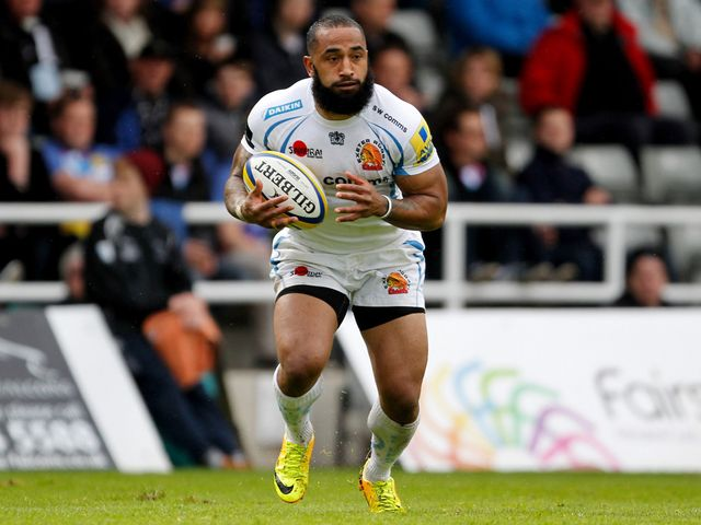 Fetu'u Vainikolo: A try scorer for Exeter