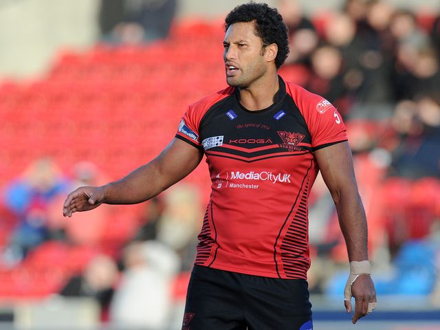 Francis Meli: Two tries for Salford