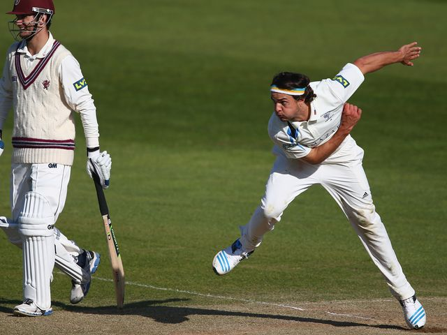 Jack Brooks: Helped take Yorkshire top at Headingley