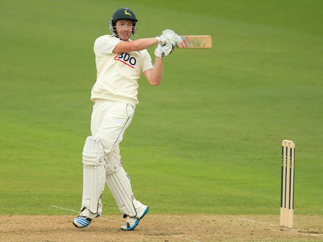 Riki Wessels: His century took Notts to victory