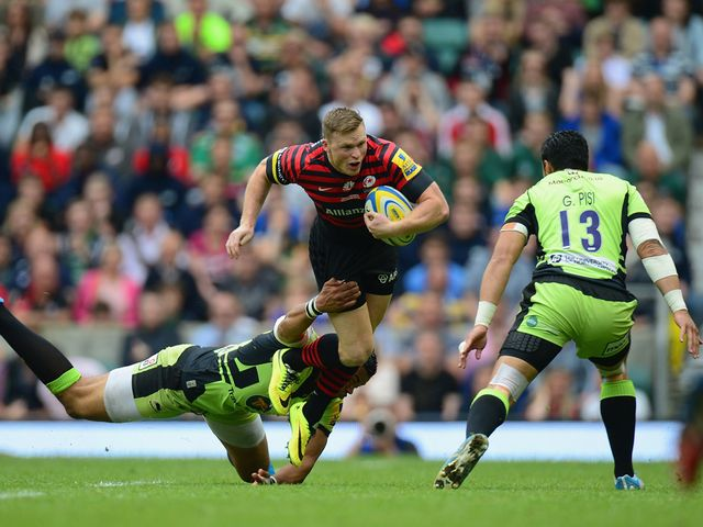 Chris Ashton finds his progress halted