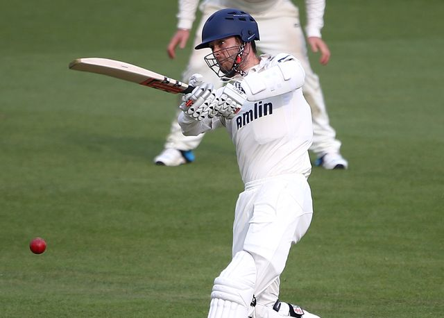Captain James Foster helped force a draw for Essex