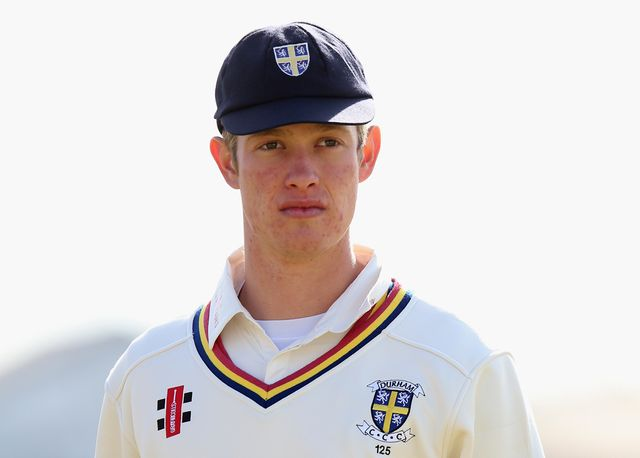 Keaton Jennings helped guide Durham to a draw