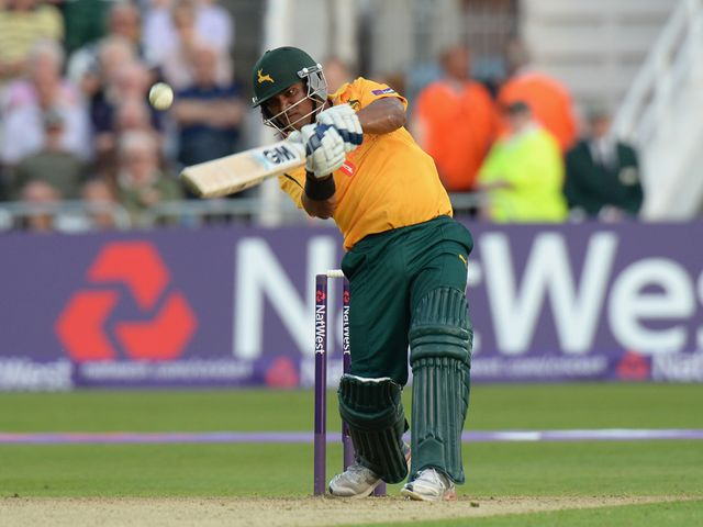 Samit Patel: Hit 44 for the Outlaws