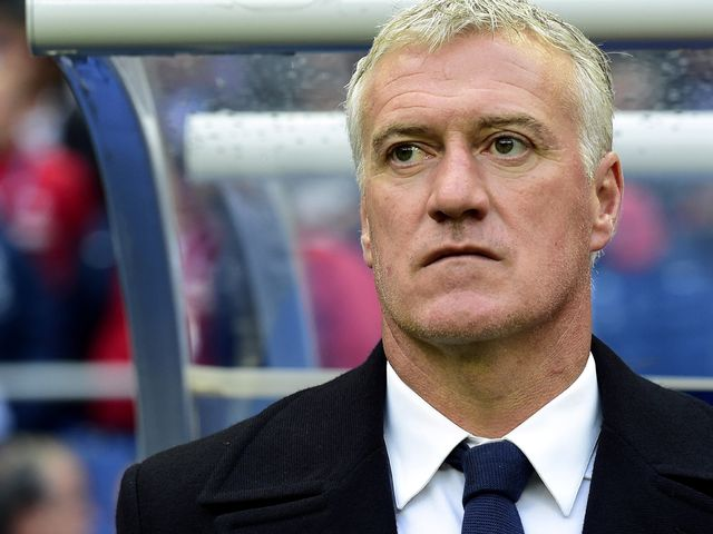 Deschamps saw his night end in frustration