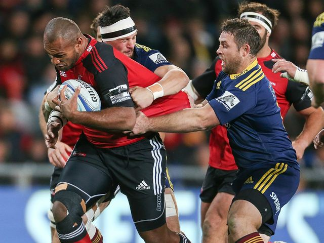 Nemani Nadolo: Claimed a bonus-point try for the Crusaders
