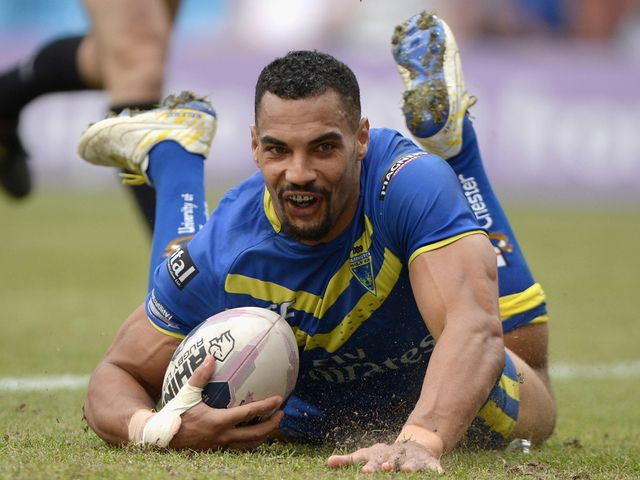 Ryan Atkins: Scored a try for Warrington