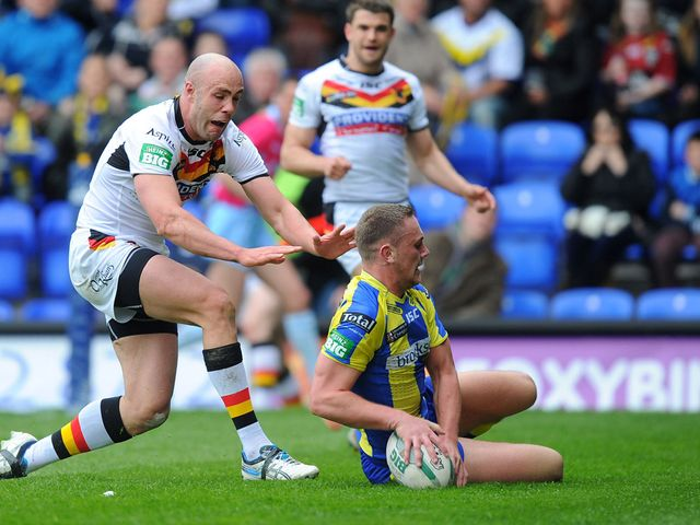 Purtell bagged two tries for Bradford