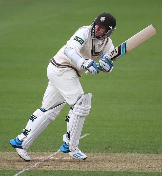 Steven Davies: Scored 77 for Surrey