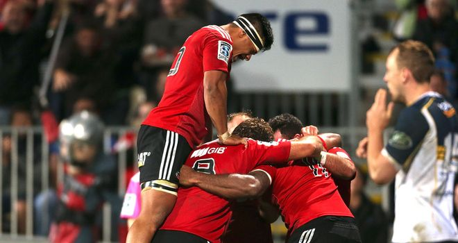 The Crusaders: Emphatic win over Brumbies