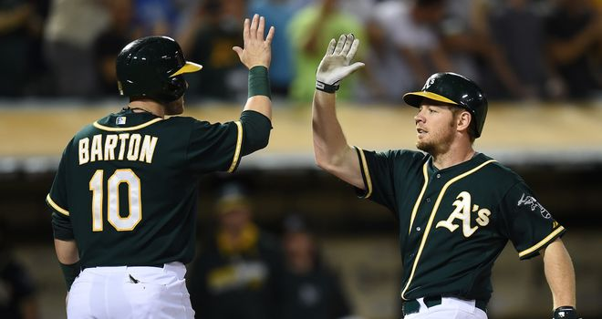 Brandon Moss: Hit two homers as Oakland crushed the White Sox