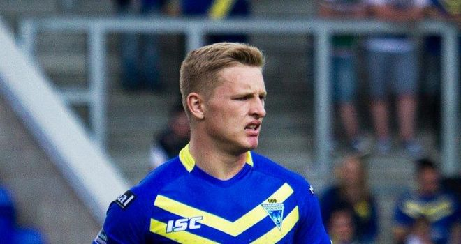 Brad Dwyer: Has signed a new two-year contract with Warrington Wolves