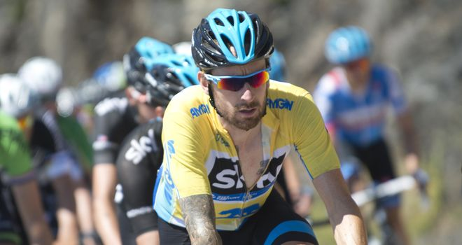 Sir Bradley Wiggins produced an assured display on the fifth stage in the Golden State
