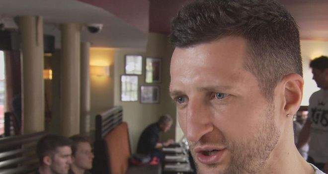 Carl Froch: Confident he will halt George Groves