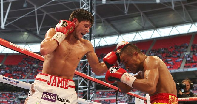Jamie McDonnell: Has regained a world title after being stripped last year