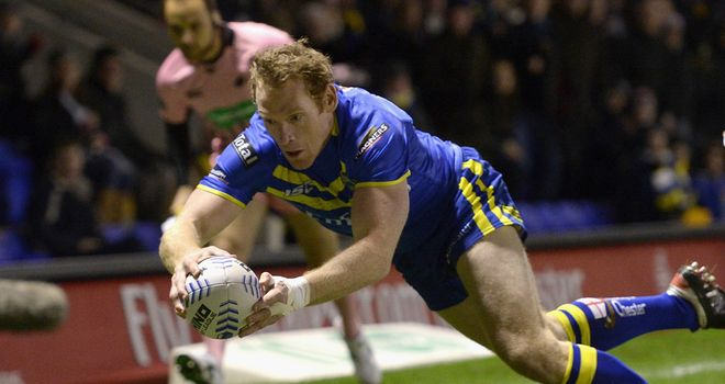 Joel Monaghan: crossed for his 24th Super League try of the season