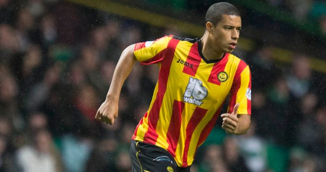 Lyle Taylor: Netted Partick's opening goal in Edinburgh on Wednesday