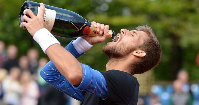 Champagne tennis: Klizan has quality and could make life tough for Nadal