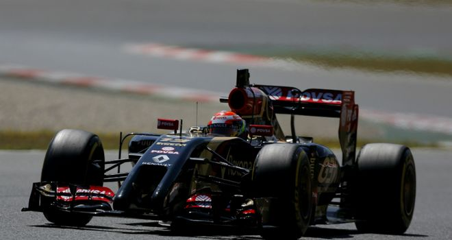 Pastor Maldonado: First normal day of testing this year