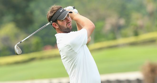Scott Jamieson: missed the cut at Hoylake