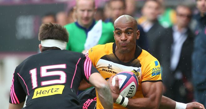 Tom Varndell on the charge in Paris