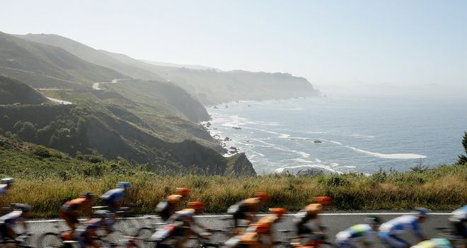 The Tour of California has this year attracted an A-list British cast