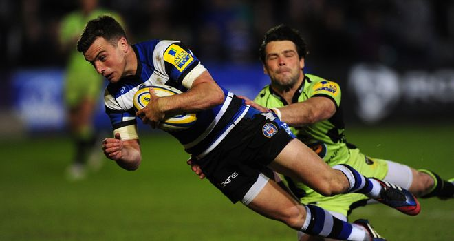George Ford: Bath stand-off scored all his side's points, including solo try