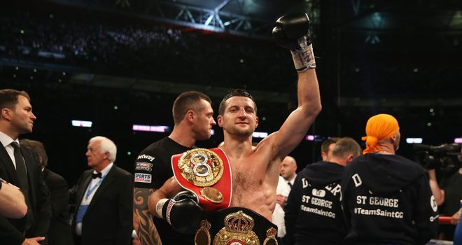 Carl Froch: Halted George Groves in the eighth round