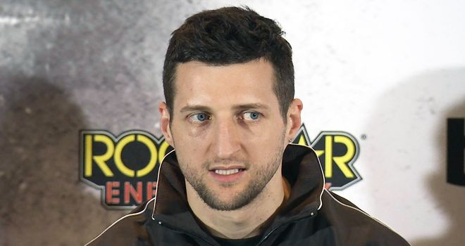 Carl Froch: Adamant he can halt Groves once more