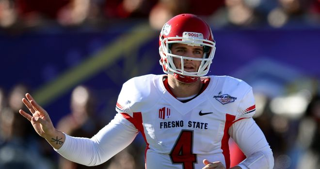 Derek Carr: The fourth quarterback to be taken in the 2014 NFL Draft