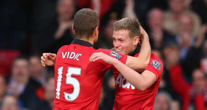 James Wilson: Ensured Nemanja Vidic enjoyed a winning end to his Old Trafford career