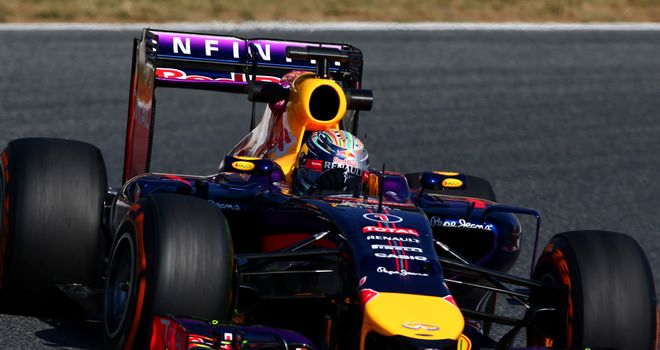 Sebastian Vettel: Wing problem in practice