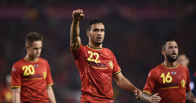 Nacer Chadli: Added the fourth for Belgium