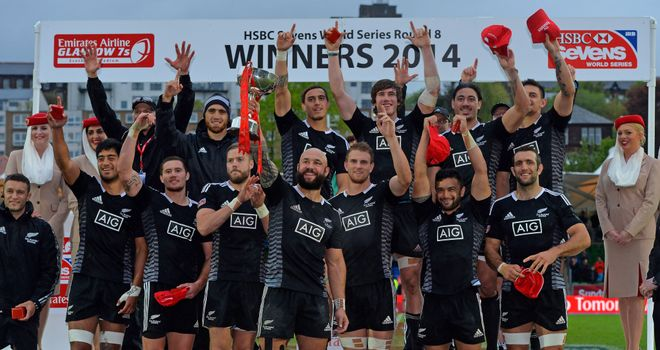 New Zealand: On the brink of claiming the overall title after victory in Scotland
