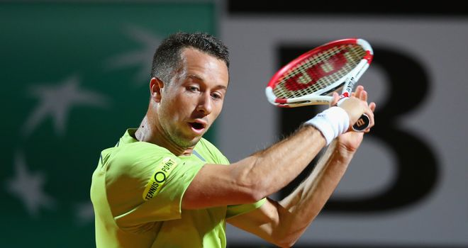 Philipp Kohlschreiber: Has now won four of his five career titles on home soil in Germany
