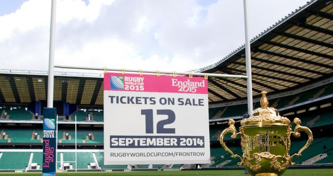 Rugby World Cup: September date remains in place for general sale