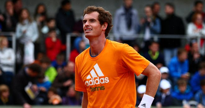 Andy Murray: Showed some promising signs on clay during the recent Rome Masters