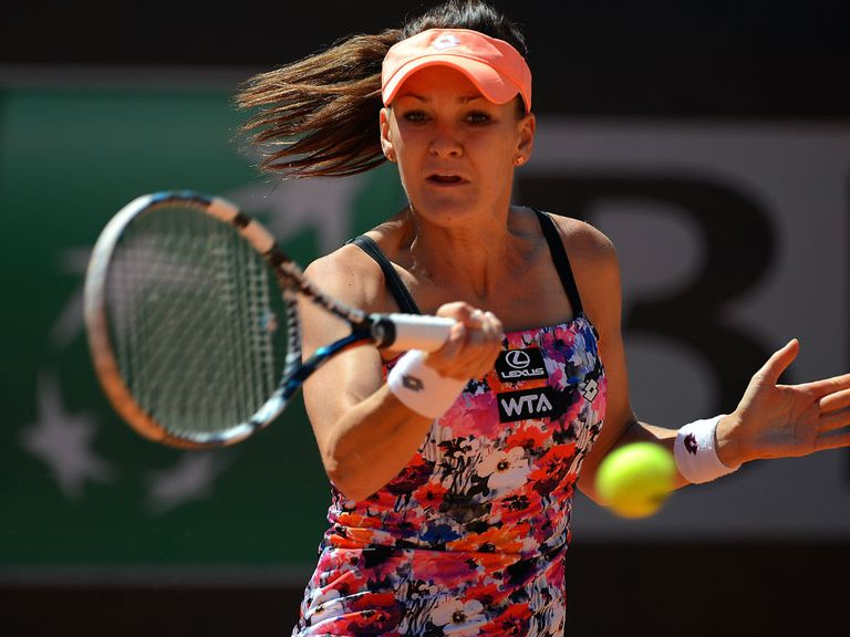 Radwanska: Has impressed at Wimbledon in the past two years