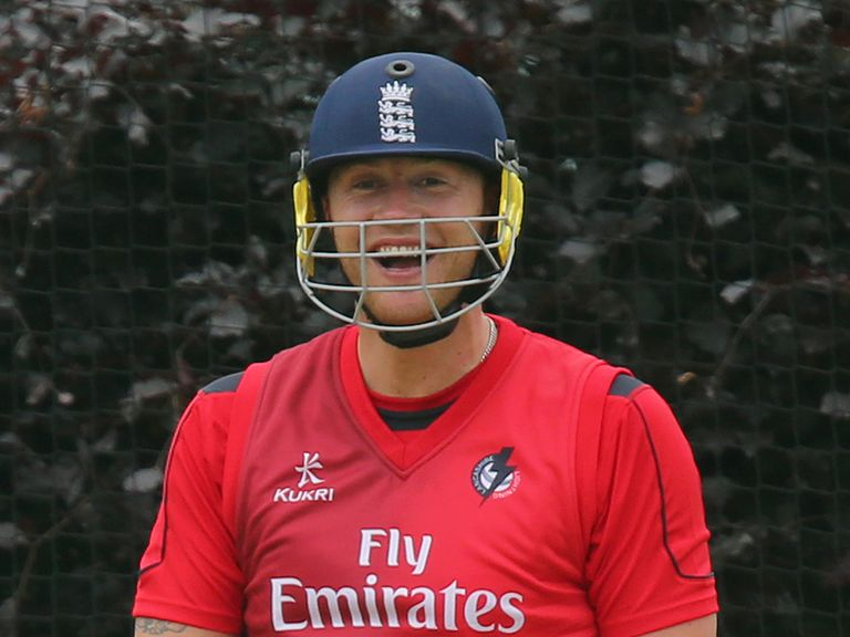 Andrew Flintoff: Returning to action with Lancashire