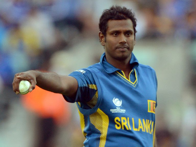 Angelo Mathews: Looking to take the lead in the one-day series
