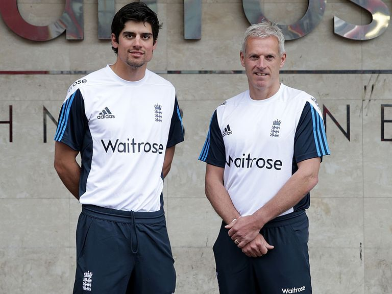 England's new era: Captain Cook and head coach Peter Moores