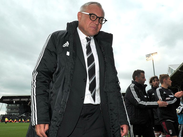 Magath: Pressure rising at Craven Cottage